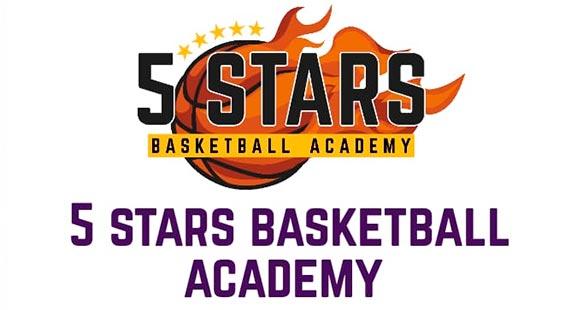 Logo 5 Stars Basketball