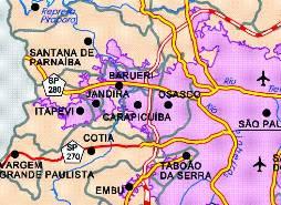 Mapa Osasco